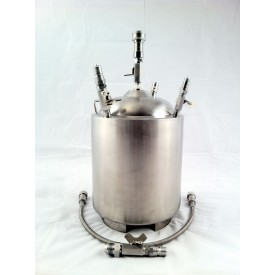 TE3000 EXTRA RECOVERY TANK with VRV Safety Valve
